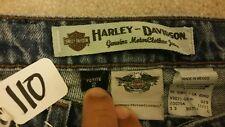 HARLEY DAVIDSON womens 2P BOOTCUT blue jeans Item # 116