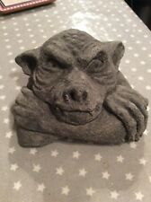 Gargoyle mould latex garden ornament mould, Gothic