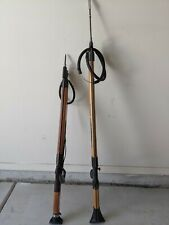 Lot of 2 Spearguns JBL Woody 38 Special   Magnum Sea Hornet   W/ Spears AS IS