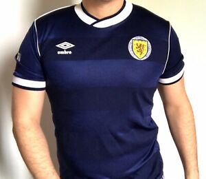 1986 Mexico World Cup Scotland Jersey Made By Umbro 100% Original And Authentic