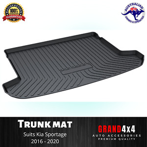 Heavy Duty Cargo Rubber Mat Boot Liner Trunk Mat to suit Kia Sportage 2016-2020