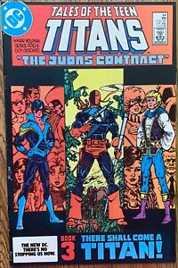 TALES OF THE TEEN TITANS COMIC (DC,1984) #44 1ST APPEARANCE OF NIGHTWING COPPER~