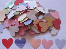 Over 100 Heart Punchies cardmaking weddings scrapbooking valentines