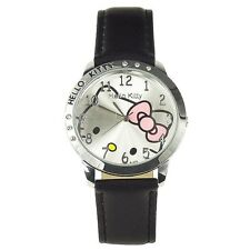 Reloj HELLO KITTY watch negro Precioso A1233