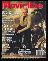 GLENN CLOSE Barbara Hershey KEVIN BACON Richard Lewis 1996 Movieline magazine