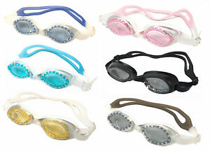 Designer Kids Junior Boy Girl UV protection Anti Fog Swimming Goggles 3-12Y Box