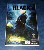 BLACK 1 1:5 ASHLEY WOOD variant 1st print BLACK MASK COMIC Kwanza Osajyefo NM WB