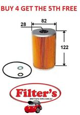 OIL FILTER FOR BMW 5SERIES 530I 3.0L E61 N52B30 6CY MPFI DOHC 05/ 2005 - 02/2007