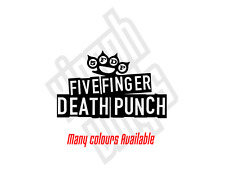 5 five finger death punch vinyl sticker decal laptop ipad cd window optional #3