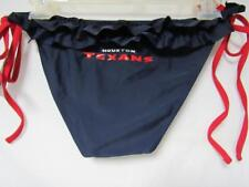 Houston Texans Womens Medium Screened Bikini Swimsuit Bottom C1 536