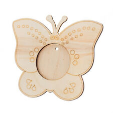 Wooden Plain Butterfly Photo Frame DIY Scrapbooking Home Office Decoration