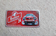 BUNDABERG RUM NUMBER PLATE  No 24  -   GREAT FOR THE MAN CAVE