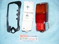 FIAT 500 F/L/R FANALE POSTERIORE DX COMPLETO PLASTICA TIPO ALTISSIMO MOD LISCIO