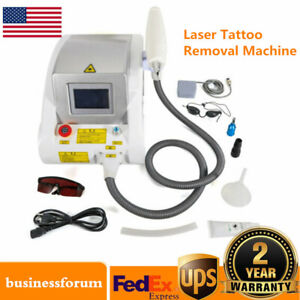 YAG Laser Tattoo Remover Eyebrow Pigment Removal Face Beauty Machine 1000W USA