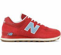 New Balance ML 574 Str Chaussures Hommes Sneaker Rouge Loisirs de Sport