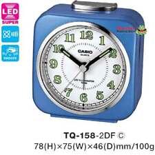 AUSSIE SELLER CASIO ALARM DESK CLOCK TQ158 TQ-158-2DF TQ-158 12-MONTH WARRANTY
