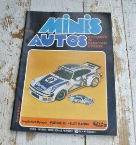 Vintage Minis Auto Magazine issue 39 - Miniature car model - French