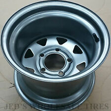 "1) 12"" 12x8.5 5/4.5 RIM WHEEL Zero Turn Riding lawn Mower Compact Tractor P47"