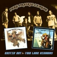 Pure Prairie League - Bustin' Out & Two Lane Highway (2013)  CD  NEW  SPEEDYPOST