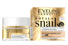 EVELINE ROYAL SNAIL CONCENTRATED FACE CREAM ACTIVE REGENERATION DAY NIGHT 70+
