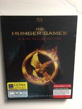 The Hunger Games (Blu-ray Disc, 2012, 2-Disc Set) NEW Target Digipak