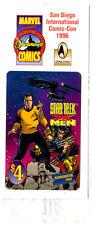 SAN DIEGO COMIC CON STAR TREK X-MEN Marvel Promo Blockbuster Card NEW in WRAPPER