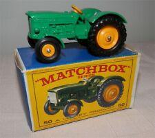 1960s.Matchbox.Lesney.50 John Deere Tractor.MINT IN BOX.original..