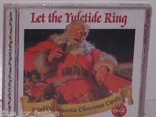 Coca Cola Let the Yuletide Ring World's Favorite Christmas Carols Music CD