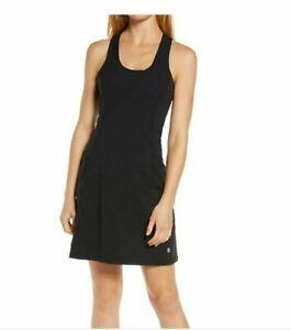 New Sweaty Betty Black Power Workout Dress. Size Large