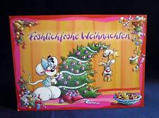 Diddl Weihnachtskarte für Fans von Depesche  ##  2007  ##  Klappkarte