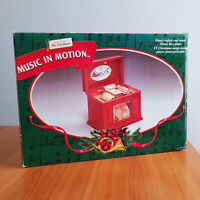 Music In Motion Player Piano Music Box 15 Songs Vintage 1998 Mr. Christmas
