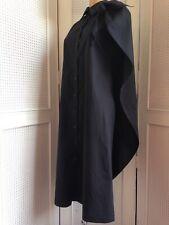 MM6 Maison Martin Margiela Cape Shirt Dress Black Artist Avant-garde NEW 40