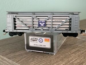 N Scale NSE Micro-Trains US Navy USNX 1002  Helium 17-169 2017
