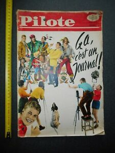 ASTERIX journal pilote n°1  du 29 OCTOBRE 1959
