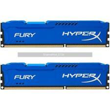 DIMM para Computadora de escritorio RAM para Kingston FURY HyperX 16GB 2x 8GB DDR3 1600 Mhz PC3-12800U