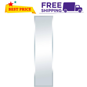 """Full Length 48"""" x 12"""" Mirror Beveled Large Wall Glass Silver Home Decor"""