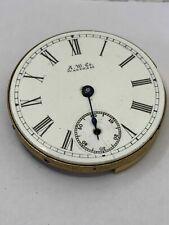 Pocket watch Waltham 0S 7J Parts Or Repair