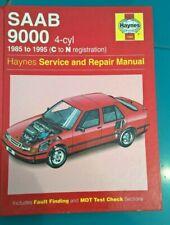 Haynes 1985-1995 Saab 9000 Workshop manual