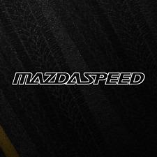 Mazdaspeed 'Full Logo' Emblem JDM Sticker Japan Drift Katakana Stance Decal
