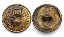 Bouton/ Button- CANONNIERS DE LILLE CREES EN 1483. Vers 1830. 17 mm. France