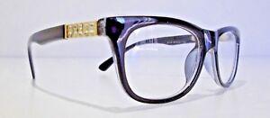 Ladies Designer Glasses Frame for prescription Lens eyeglasses Spectacles Black
