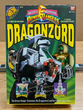 Bandai Mighty Morphin Power Rangers Dragonzord Figure w/Green Ranger - Sealed