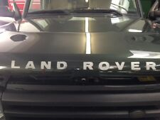 "LAND ROVER HOOD DECAL STICKER ""LAND ROVER"" FOR DISCOVERY 2 II DAG100370MAD OEM"