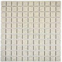 Mosaik Fliese Keramik hellbeige unglasiert Fliesenspiegel Küche 22-1202-R10/_b