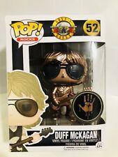 CUSTOM METALLIC BRONZE Funko Pop Rocks Guns N Roses - Duff McKagan RARE Chase