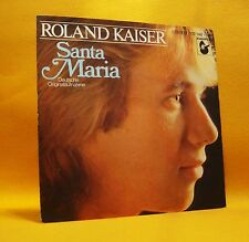 "7"" Single Vinyl 45 Roland Kaiser Santa Maria 2TR 1980 (MINT VINYL) Soft Rock"