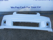 HOLDEN COMMODORE VE SS SV6 SERIES 1 FRONT BUMPER BAR PAINTED WHITE NEW