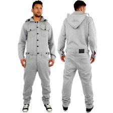 Jeans da uomo salopetti grigi