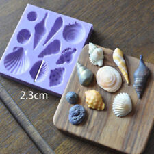 Beach Sea Shells Summer Silicone Cake Mould Decoration Fondant Icing Mold Decor