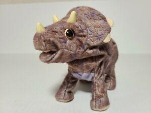Playskool Roaring Triceratops Baby Dinosaur Toy Electronic Plush